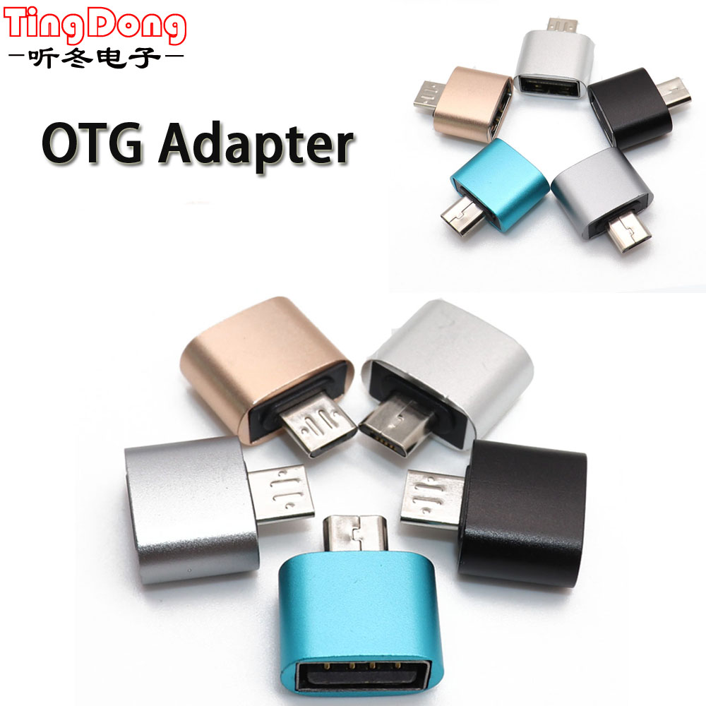 Micro USB Converter Male To USB 2.0 Female OTG Adapter Android V8 Cable For Samsung For Xiaomi For HTC For Sony For LG Android