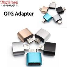 Conversor Micro USB Macho para USB 2.0 Adaptador Feminino OTG Android V8 Cabo Para Samsung para Xiaomi para HTC para sony para LG Android
