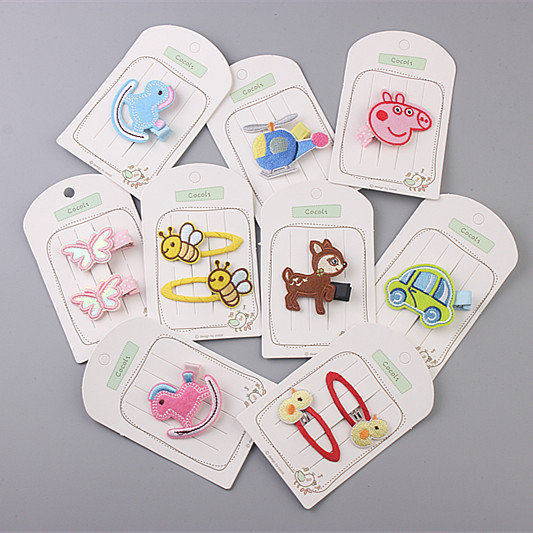 1 PCS New Korean Cute Safe Car House Baby Headdress Girls Hairpins Cartoon Hair Clips Kids Headwear Children Accessories