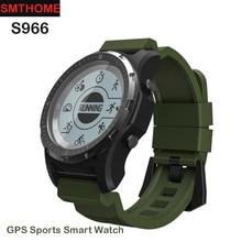 S966 Smart Watch Men GPS Waterproof Clock Fitness Tracker Heart Rate Monitor for outdoor sports Watch