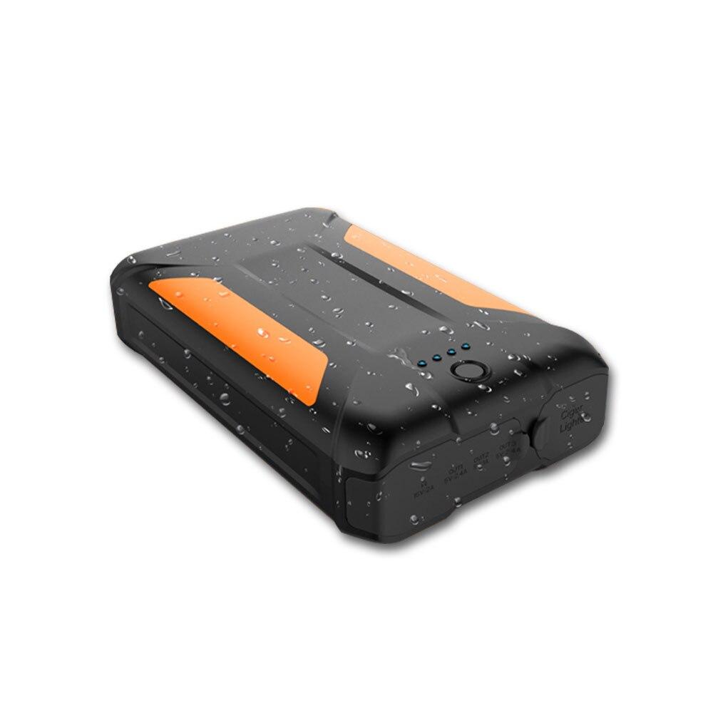 Внешний аккумулятор большой емкости 38000 мАч, водонепроницаемый внешний аккумулятор, запасной аккумулятор, зарядное устройство для телефон