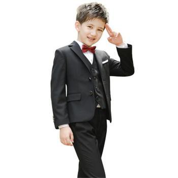 Spring and autumn Suit for boy One button boys suits for weddings costume enfant garcon mariage boys blazer jogging garcon 5pcs