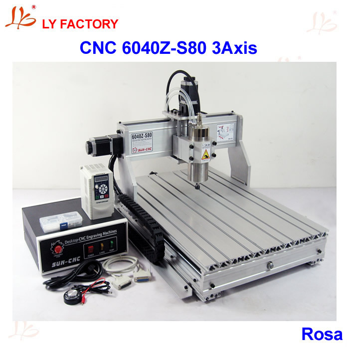 High Power LY 6040Z-S80 3 Axis CNC Lathe Machine Price with 1.5KW Water-Cooling Spindle Motor 220V/110V Available s quire s quire ly b9 3