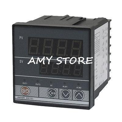 Contrôleur de Thermostat numérique AC 110-220 V SSR PID pour capteur de température K