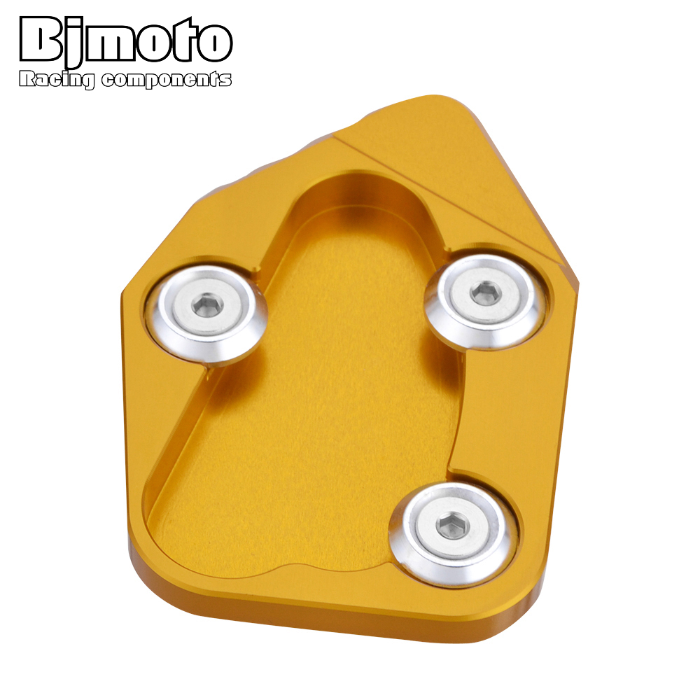 New Moto <font><b>parts</b></font> CBR 1000RR CNC Side Stand Plate Pad Kickstand Enlarge For Honda <font><b>CBR1000RR</b></font> CBR 1000 RR CBR-1000RR <font><b>2008</b></font> - 2016 image