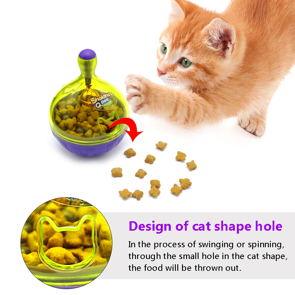 Distributeur de nourriture pour chats
