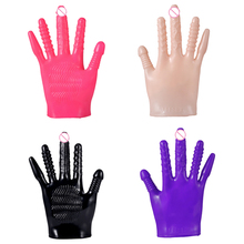Sex Glove Clitoris Erotic Vibrator Sex Toy