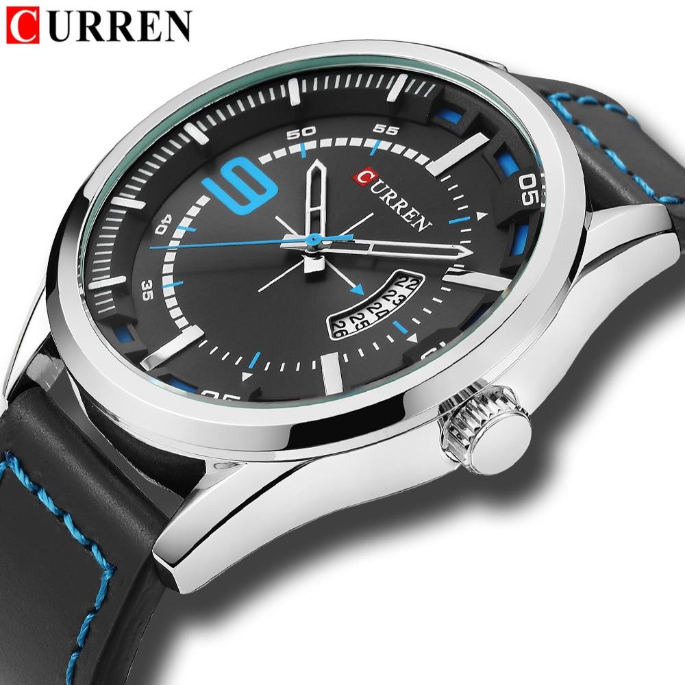 Curren Watches 2018 watches men top brand luxury relogio masculino curren Quartz Wristwatch curren m8113