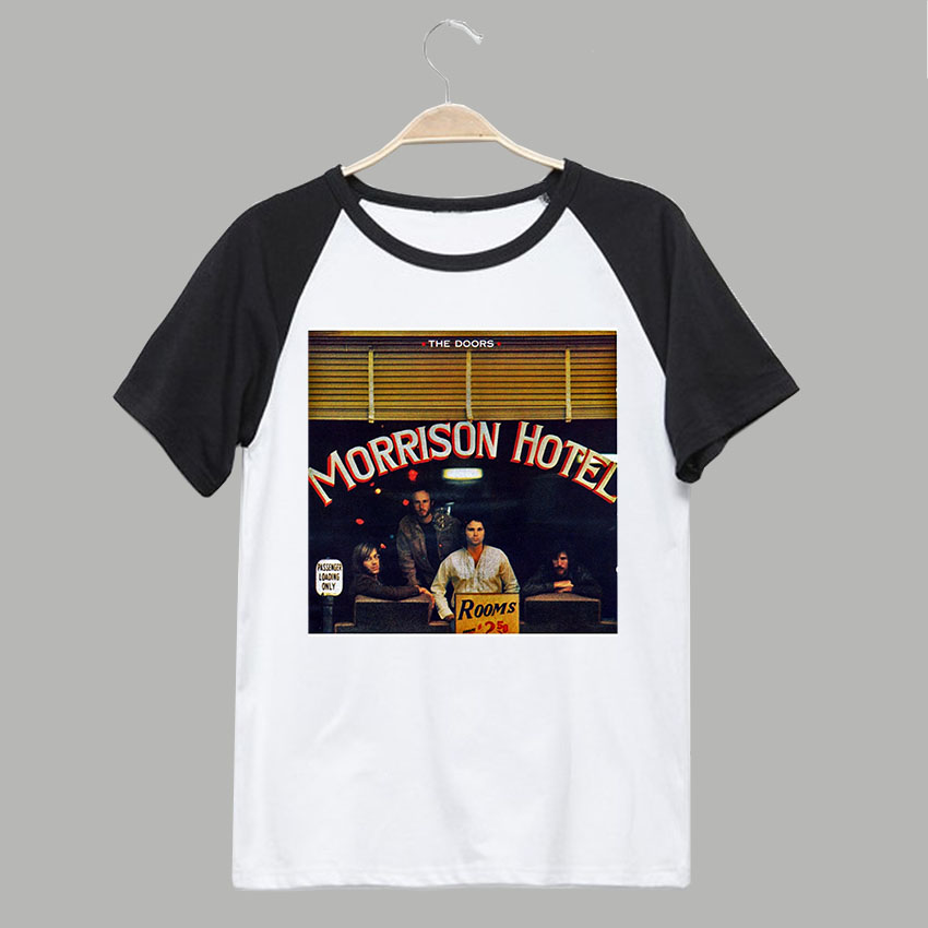 The Doors Morrison Hotel Classic Rock Fashion Vintage T Shirt In Shirts From Mens Clothing Accessories On Aliexpress