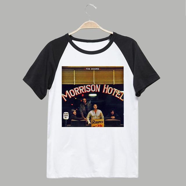 the doors Morrison Hotel classic rock fashion vintage t shirt & the doors Morrison Hotel classic rock fashion vintage t shirt-in T ...