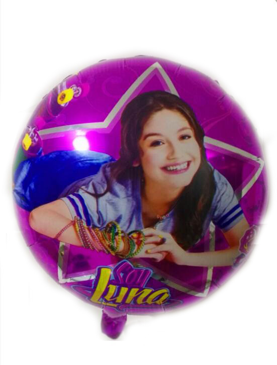 New 18 inch soy Luna aluminum film balloon wholesale childrens birthday party decorate balloons