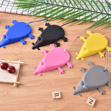 door stop heavy duty rubber mouse door stop stopper wedges blockers office home household silica gel
