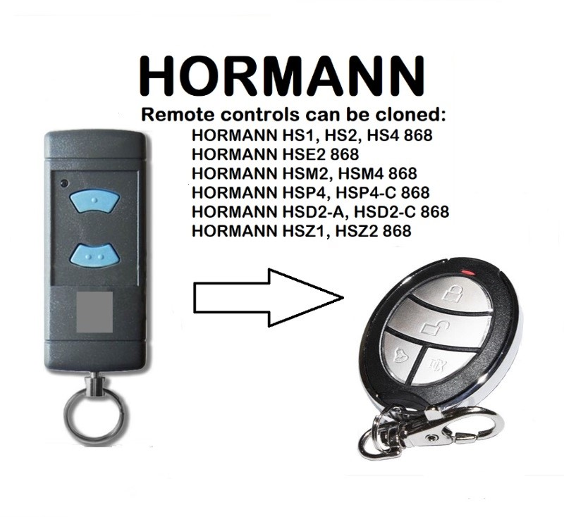 HORMANN HSE2 868 Universal Remote Control Duplicator 868.35MHzHORMANN HSE2 868 Universal Remote Control Duplicator 868.35MHz