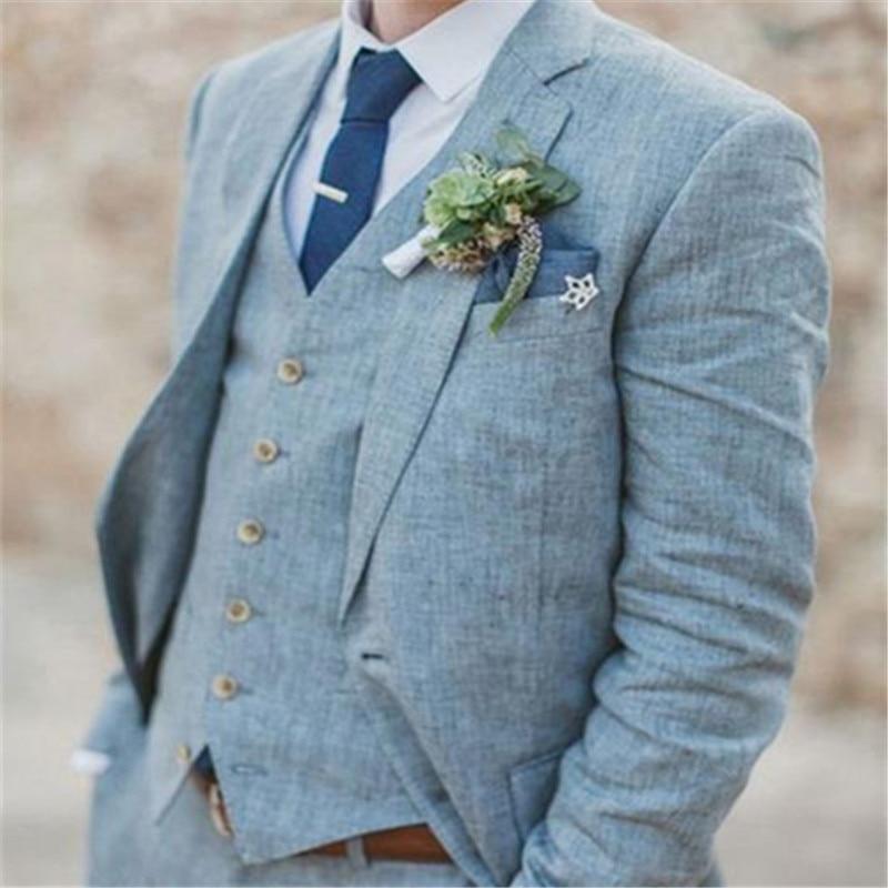 buy online 32c2f 460ae Bleu-clair-Linge-De-Mariage-Costumes-Pour-Hommes-Terno-Slim-Fit-Mari-Personnalis-3-Pi-ce.jpg
