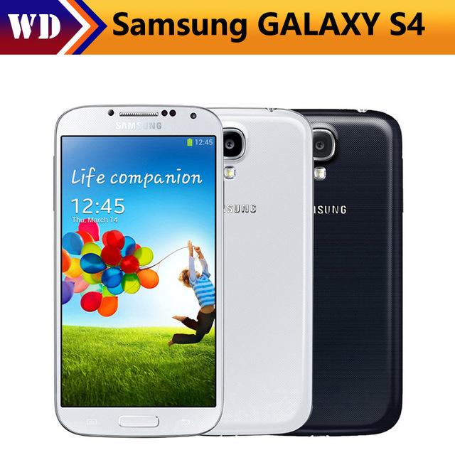 "bilder für Original Samsung Galaxy S4 i9500 Handy Quad Core 2 GB RAM 16 GB ROM 5,0 ""4G Mobile telefon"