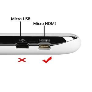 Image 2 - HDMI סוג A למייקרו HDMI סוג D עד & למטה & שמאל וימין בזווית מרפק כבל 50cm 3D 4K 1080p MicroHDMI אודיו עבור Tablet מצלמה