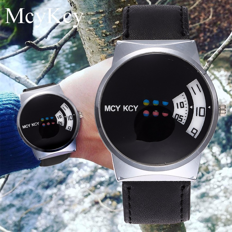 Hot Sale <font><b>Unisex</b></font> Creative Design Quartz Wristwatches For Women Men <font><b>Leather</b></font> Strap Watch Gift Clock <font><b>Relojes</b></font> <font><b>Mujer</b></font> <font><b>Montre</b></font> <font><b>Femme</b></font> image