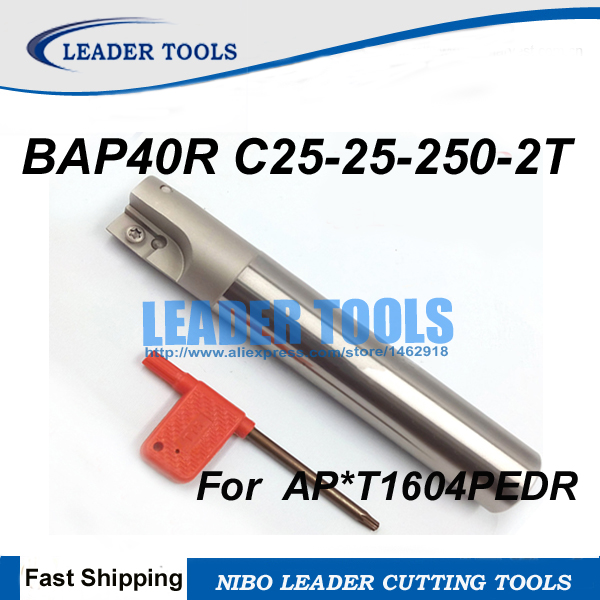 BAP 400R C25-25-150-2F Indexable milling cutter CNC TOOL for APMT//APKT1604PDER