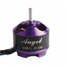 Free Shipping SUNNYSKY A2208 Angel KV1260 KV2600 motor 2-3s brushless motor for MultiCopter KK MWC RC Airplane Helicopter