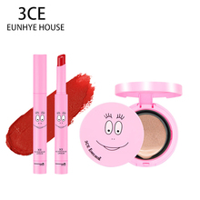 3CE Eunhye House Brand Lip Makeup Waterproof Long-lasting Matte Lipstick+Air Cushion CC Cream Loose Enhance Air Cushion BB Cream
