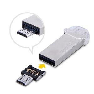 Image 5 - Ücretsiz kargo Yeni DM OTG adaptörü 100 adet/grup OTG fonksiyonu Dönüş normal USB içine Telefon USB flash sürücü Cep Telefonu Adaptörleri