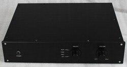 WA19 Aluminum Shell Case Protective Box Enclosure for DAC Amplifier 313x425x90mm