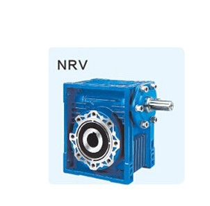New  Worm Reducer  NRV030 RV Reducer Worm Drive Small 90 Degree Reductor Box For Industrial Power Transmission Turbine Shaft