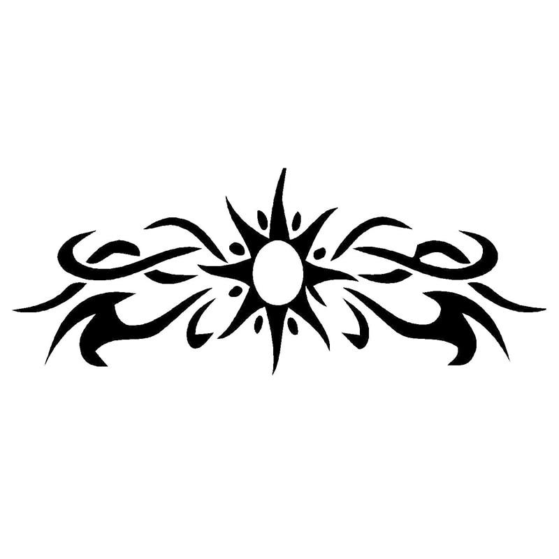 Novelty Sun Tribal Jdm Car Sticker For Truck Bumper Window