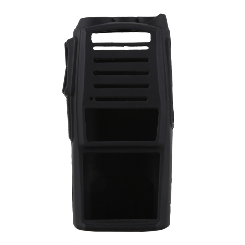 Handheld Radio Silicone Cover Protect Case For Baofeng Uv-82 Black(China)