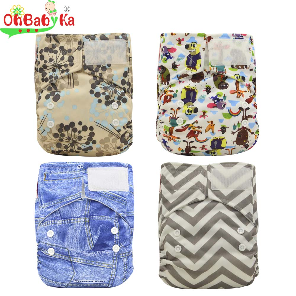 ohbabyka-one-size-adjustable-pocket-diapers-waterproof-printed-pul-baby-cloth-diaper-with-hook-and-loop-reusable-cloth-nappies