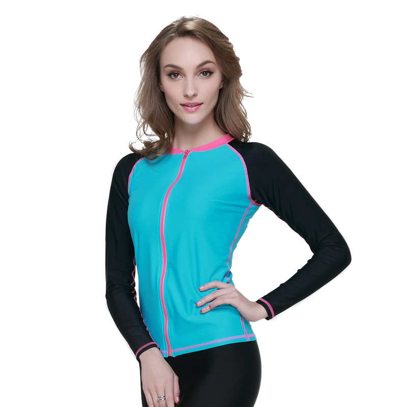 Women's Long Sleeve Top Rashguard UV Sun Protection Skins ...
