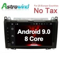 8 Core 4G Оперативная память 9 Android 9,0 автомобиль gps навигации Системы радио для Mercedes класс W169 для класса B W245, Viano/Vito, Sprinter W906