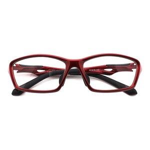 Image 5 - HDCRAFTER Erkek Sürüş Sürme spor gözlükler Çerçeveleri TR90 Reçete Miyopi Hipermetrop Optik Gözlük Gözlük Gözlük