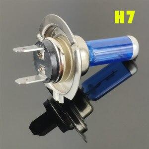 Image 4 - Super Weiß halogen lampe H1 H3 H4 H7 H8 H11 9005 HB3 9006 HB4 12V 55W 100W LED Auto Scheinwerfer Lampe
