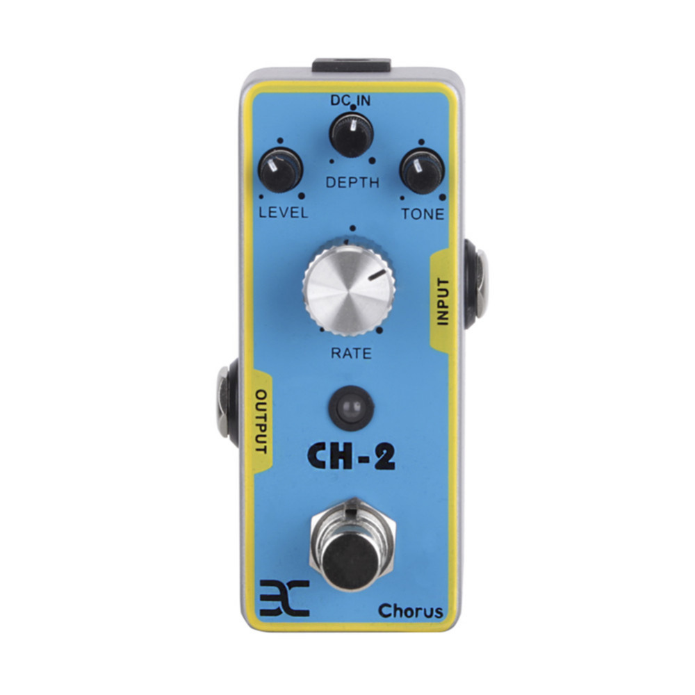 где купить  Upgrade Electric Guitar Effect Pedal Guitar Pedal Bass Effect Pedal Power 9V Sounds Like A Crystal Clear Water Support Wholesale  по лучшей цене