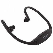 Portable Cheap Wireless Headphones Sports Headset Music MP3 Player Headphone Micro SD TF Card FM radio Earphone