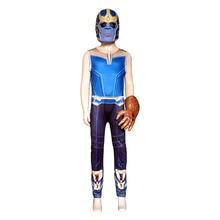Купить с кэшбэком Avengerss 3 Thanos Cosplay Costumes Infinity Gauntlet Boys Cosplay Jumpsuits Halloween Mask Streetwear Thanos Glove Infinity War