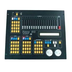 ホット販売スキャナ DMX コンソール DMX512 DJ 機器 512 ディスコステージ照明ワイヤレスコントローラ制御