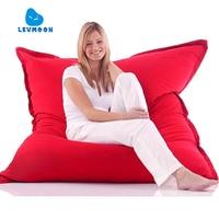 LEVMOON Beanbag Sofa Magic Seat Zac Shell Comfort Bean Bag Bed Cover Without Filler Micro Velvet