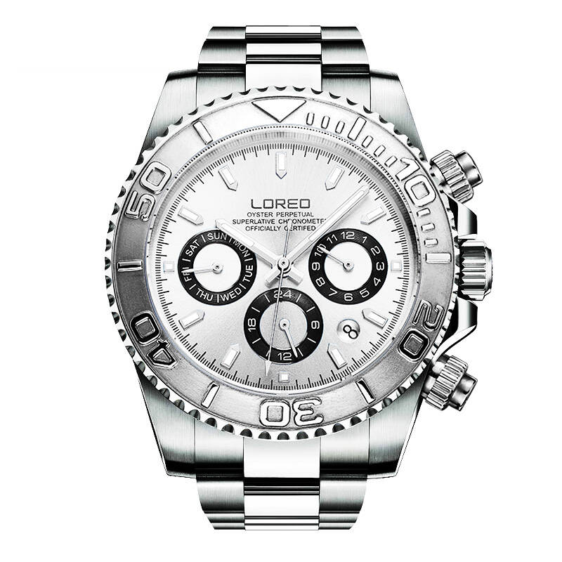 LOREO 9208 diver 200M oyster perpetual cosmograph daytona automatic multifunction Calendar Chronograph professional diver