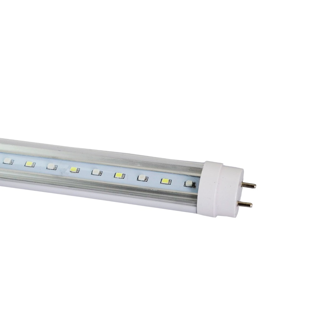 4 Pack of 24'' Led Tube Aquarium Light For Plant And Coral Reef Blue and White Color