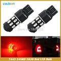 T20 7443 7440 24SMD 5730 LED Тормозной Сигнал Поворота Заднего Света автомобиля Лампы
