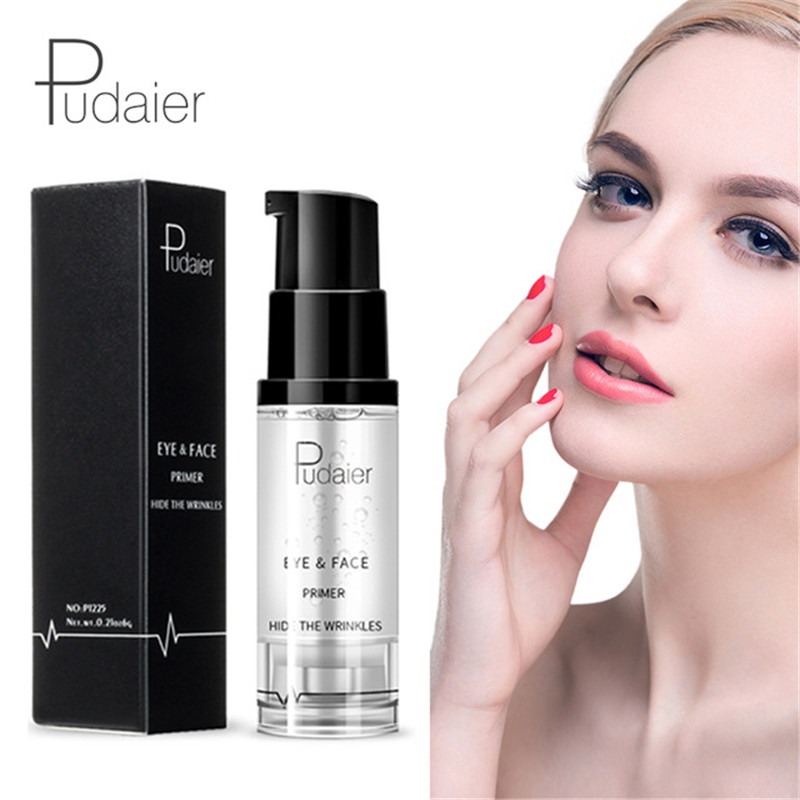 Pudaier Natural Face Base Primer Foundation Professional Makeup Nude Moisturizer Cream Eye Shadow Primer Gel Cosmetics Maquiagem