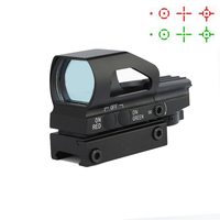 Free shipping Red Dot Scope Hunting Airsoft Air Guns Riflescope Tactical Optics Sight Scope Chasse Rifle Scope 1x23x34