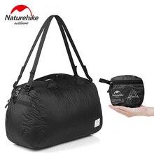 Naturehike Unisex 20D Nylon Folding Sport Bags Lightweight Outdoor Handbag Bags For Travel Cycling Swimming Storage Bag 32L 145g