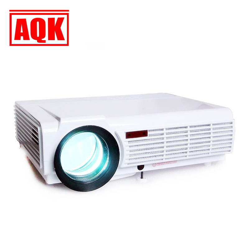 NEW Arrive 5500lumen 1280*800 Projector FULL HD LED 3D Home Theater Projectors ready projektor beamer proyector 2HDMI 2USB AV