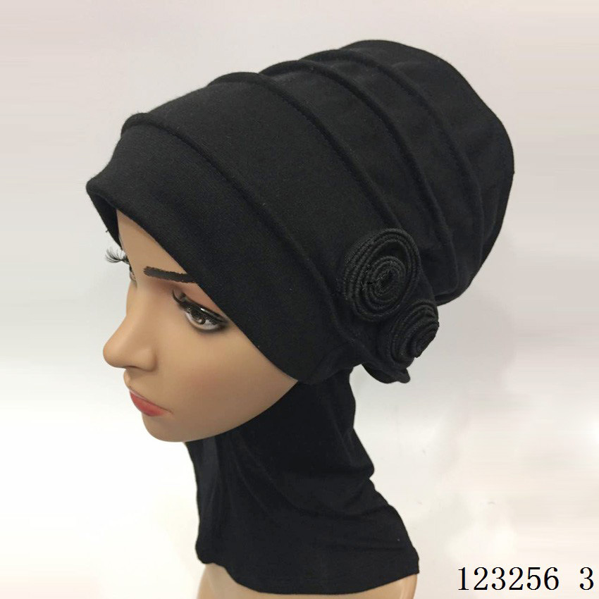 Aliexpress.com Acheter Musulman couvre chefs fleur chapeau De Mode Turquie  belle foulard turc islamique vêtements hijab de head covering islam fiable