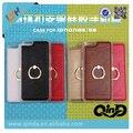 Nueva Llegada de la venta caliente nuevo diseño de Anillo de pie con mango caso para iphone 6 y 6 s estuche blando para el envío gratis