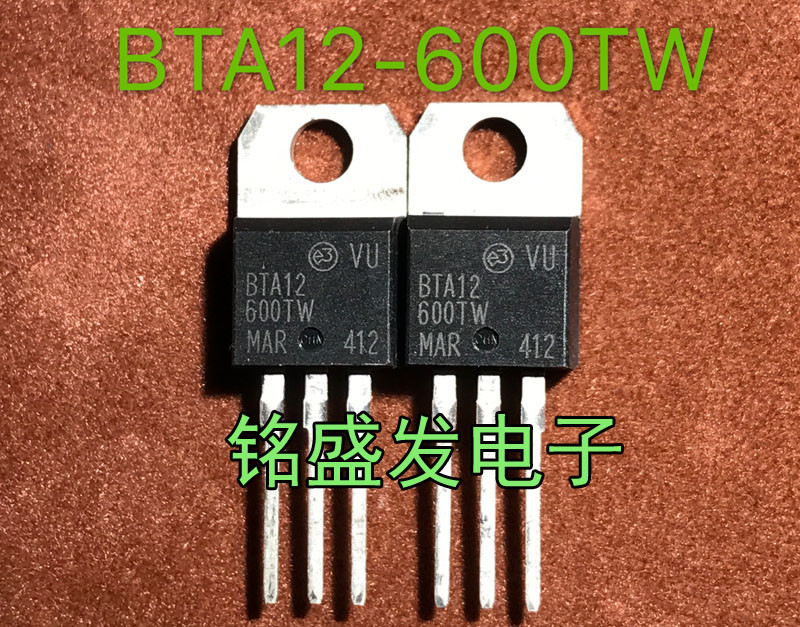 10pcs/lot BTA12-600TW BTA12-600 BTA12600TW TO-220