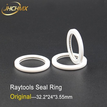JHCHMX 3pcs/lot Original Raytools Seal Ring Protection Lens Used Spring 32.2*24*3.55mm 11021M2110 for AG Head